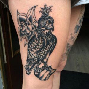 falcon tattoo